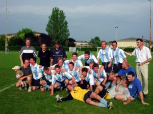 2001-2002, l'ASES termine 5ème de Division d'Honneur ! Son meilleur résultat !!