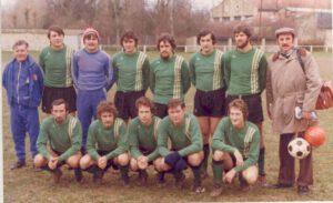 L'équipe 1977 de l'ASES