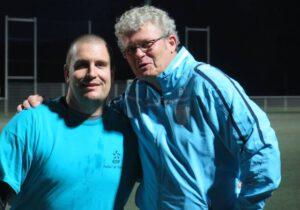 Marc Schwoehrer et Bernard Bloch (FOOTà7 de l'énergie)